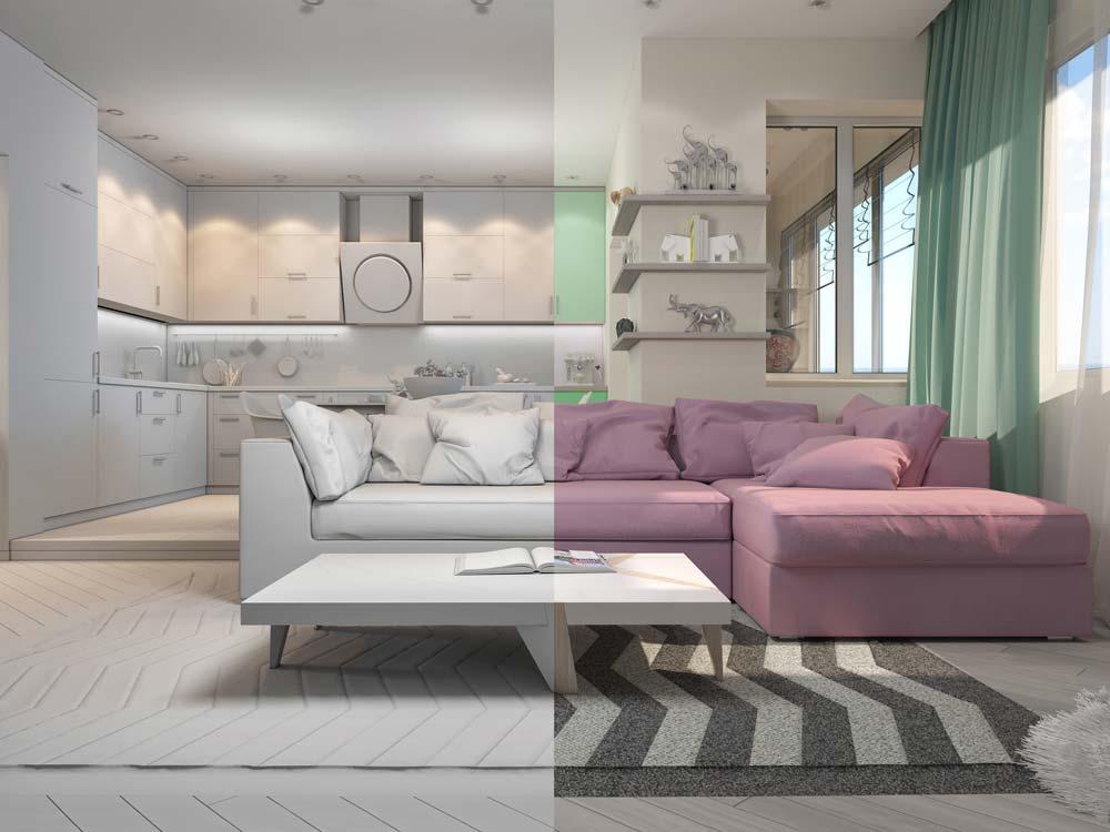 Mit virtuellem Home Staging zum Verkaufserfolg